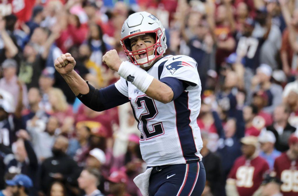 Nach 20 Jahren bei den New England Patriots wechselt Tom Brady zu den Tampa Bay Buccaneers. Foto: AP/Mark Tenally