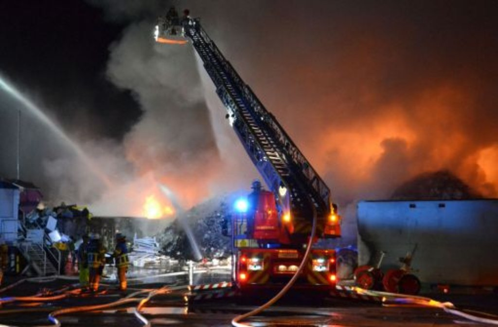 Mannheim Feuer