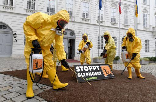 Österreich beschließt Verbot von Glyphosat