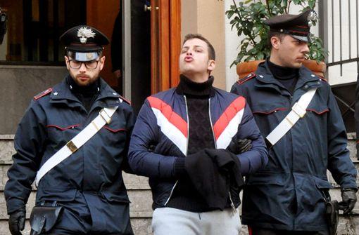 Polizei nimmt sieben mutmaßliche Mafiosi fest