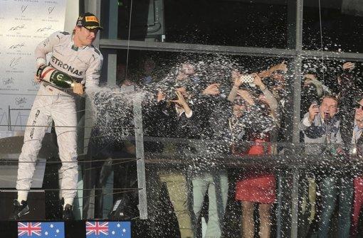 Rosberg fährt ein Rennen gegen sich selbst