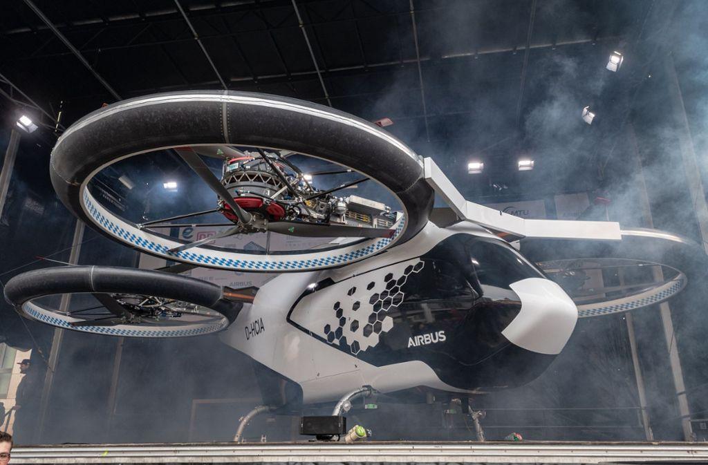 In Ingolstadt ist der  City-Airbus vorgestellt worden. Foto: dpa