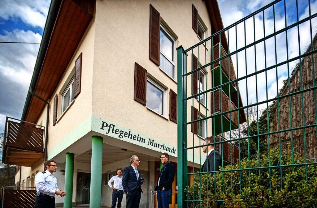 Das ehemalige Pflegeheim in Murrhardt-Oberneustetten könnte eine Option für ein Therapiezentrum sein. Foto: Gottfried Stoppel