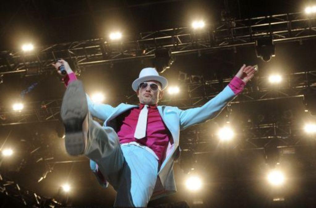 ...und Jan Delay. In diesem Jahr mangelt es an hochkarätigen Musikern. Foto: dpa