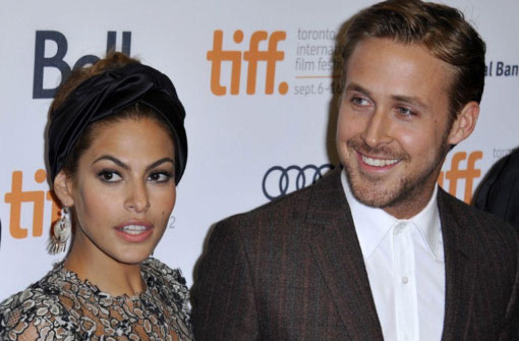 Eva Mendes und Ryan Gosling sind Eltern geworden. Foto: dpa