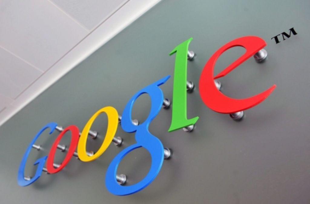 Die Google-Mutter Alphabet ist an der Börse stark gestartet. Foto: EPA FILE