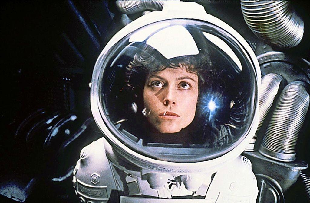 """Sigourney Weaver in """"Alien"""", dem Film, der ihr den Durchbruch brachte Foto: 20th Century Fox/Arte/BR"""