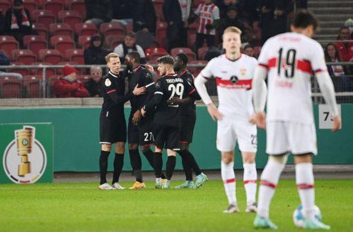 Wieder Modeste-Doppelpack – VfB Stuttgart fliegt aus dem DFB-Pokal