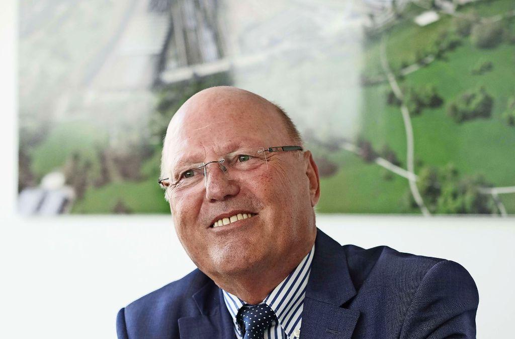 Georg Brunnhubers Vertrag läuft noch bis ins Jahr 2020. Foto: Lichtgut/Leif Piechowski