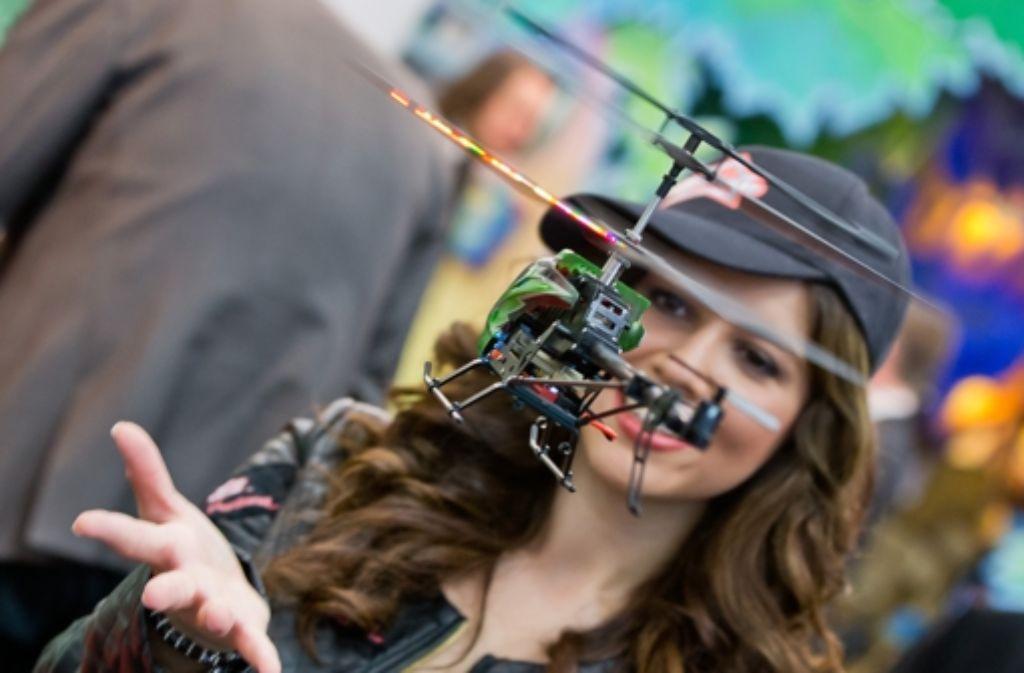 Hubschrauber zählen noch zu den unscheinbaren Neuerungen. Foto: dpa