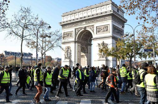 Frau bei Protesten in Frankreich getötet