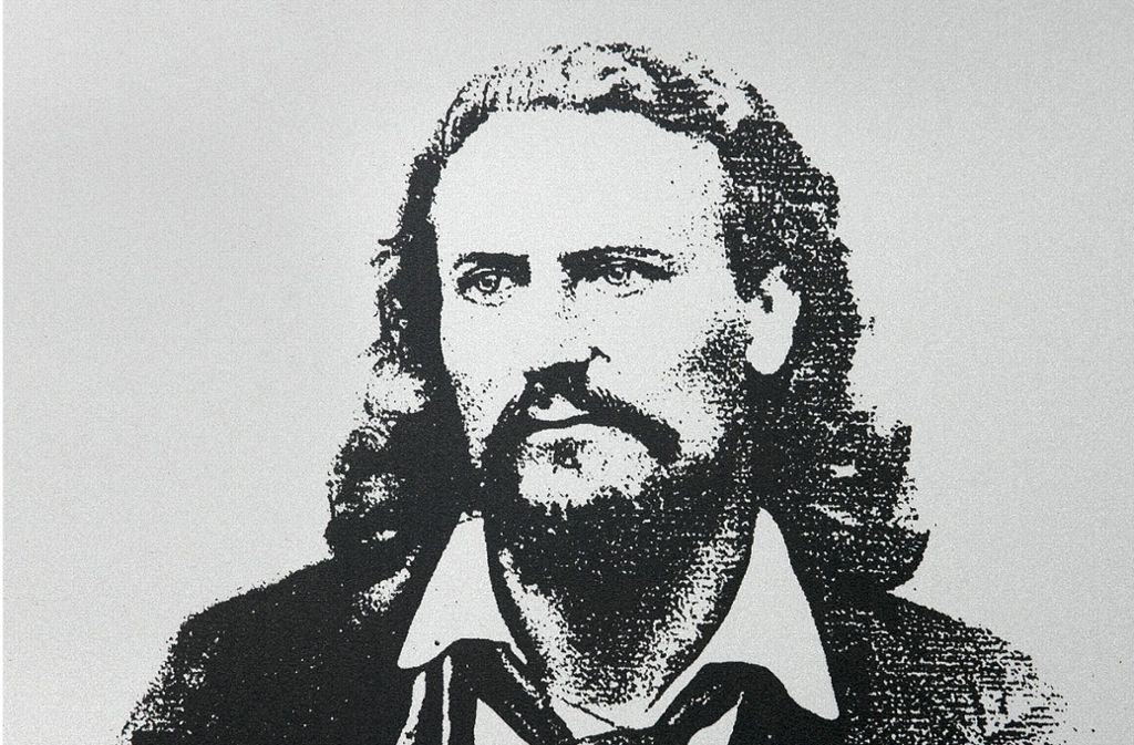 Albert Dulk in seiner Stuttgarter Zeit nach 1855 Foto: