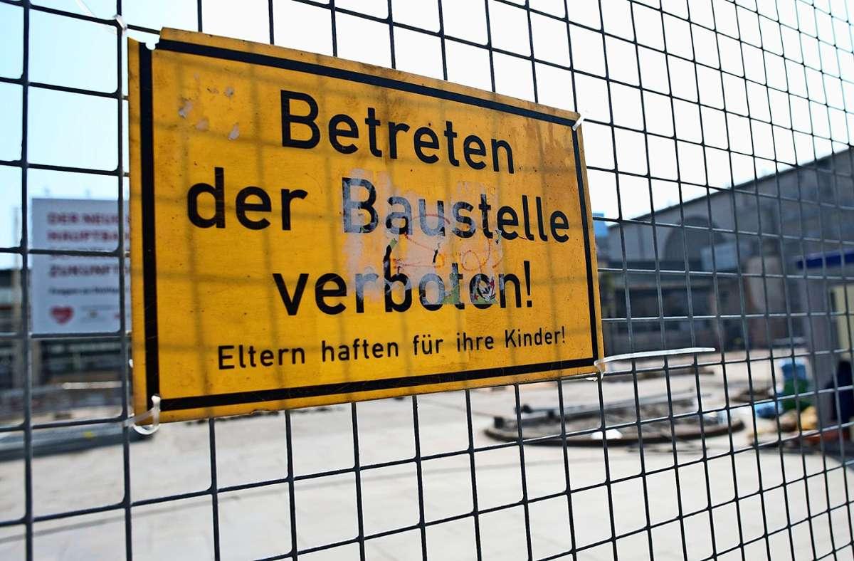 Im Jahr 2019 wurden in Stuttgart 175 Diebstähle aus Rohbauten beziehungsweise von Baustellen gezählt Foto: dpa/Uwe Anspach