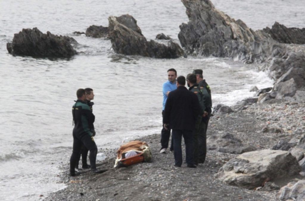 Nun werden immer mehr Details über das Drama bei Ceuta bekannt, das sich am  6. Februar  abspielte. Foto: EFE