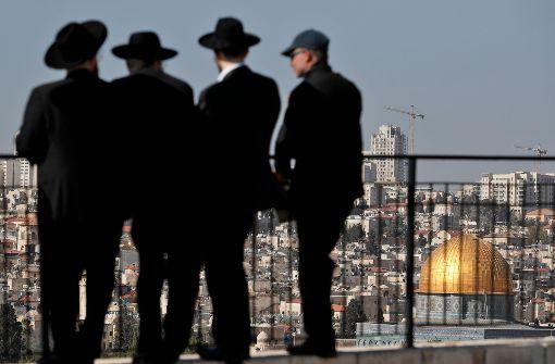 Palästinenser warnen vor Anerkennung Jerusalems als Israels Hauptstadt