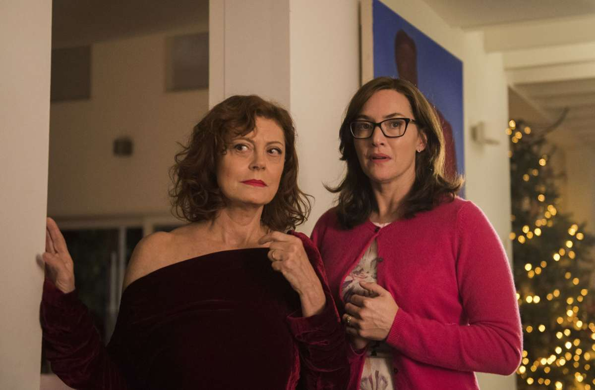 """Susan Sarandon (links) brilliert in """"Blackbird"""" als anarchische Mutter und Oma, Kate Winslet als permanent übergriffige Tochter, Schwester und Mutter Foto: Verleih"""