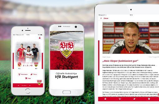 Der VfB launcht seine neue App