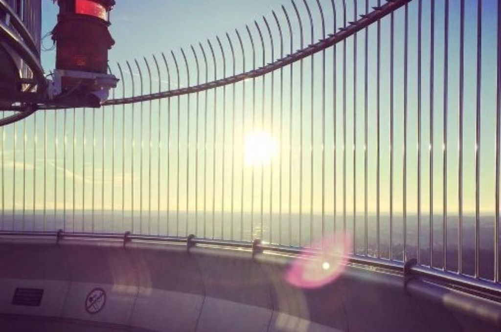 Das Jahr 2016 hat mit einer erfreulichen Sache begonnen: Das Türmle hat wieder geöffnet! An einem eisigen Samstag im Januar wurde der Fernsehturm wieder für Besichtigungen und zum Runterkucken geöffnet.  Foto: StZ