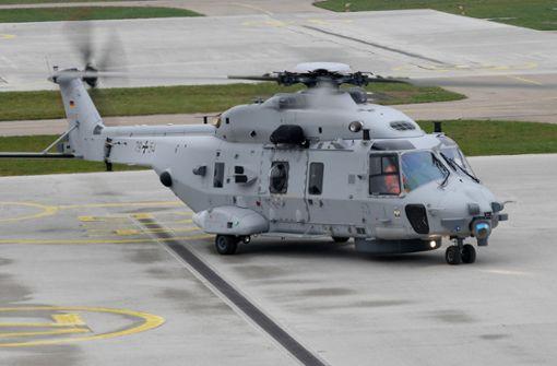 Marine-Hubschrauber Sea Lion muss am Boden bleiben