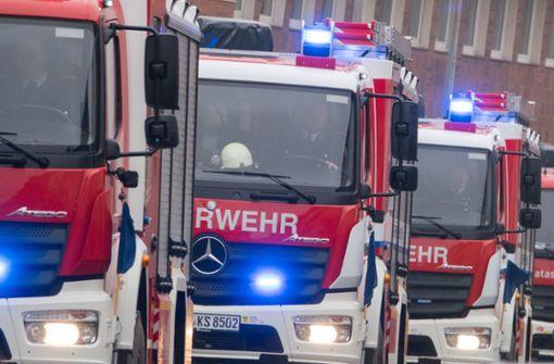 Feuer in der Rathaus-Tiefgarage