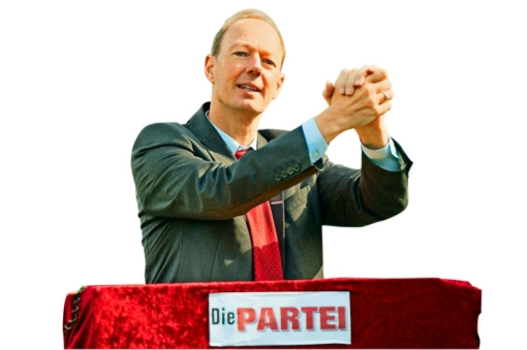 Plötzlich gewählt: Martin Sonneborn wird Politiker. Foto: dpa
