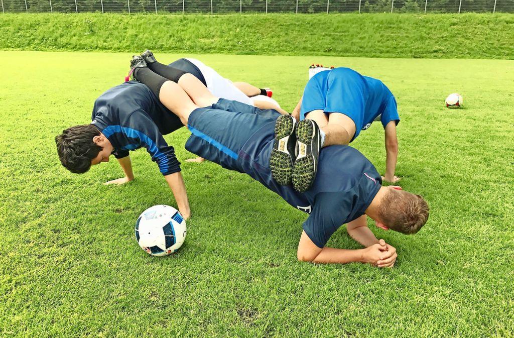 Fußball-Jugendspiel Foto: privat