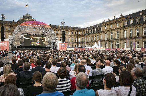 """Laut Polizei """"keine Terrorgefahr"""" für den Schlossplatz"""