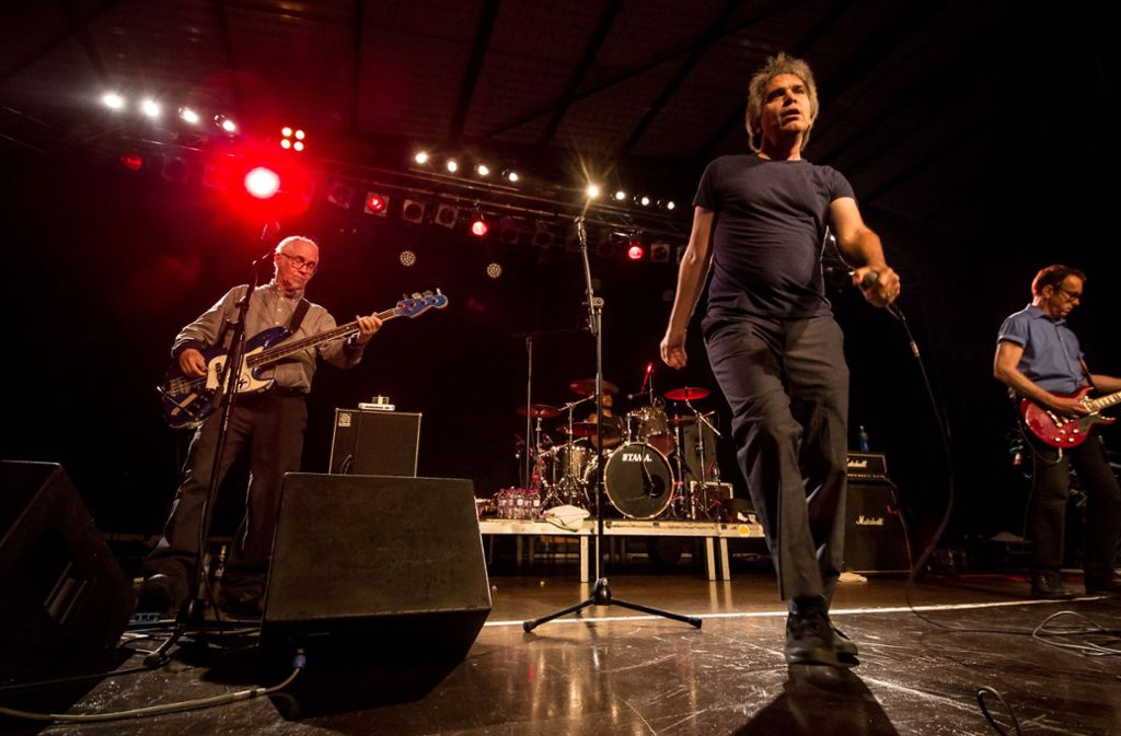 Die Dead Kennedys bei ihrem Auftritt im LKA Foto: Lichtgut/Christoph Schmidt