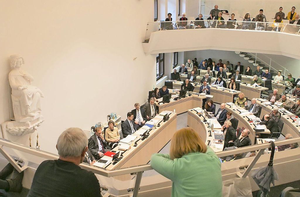 Der Freiburger Gemeinderat  war schon bisher ein Muster an Vielfalt – manche sagen: an Unübersichtlichkeit. Im neuen Gremium wird  das nicht anders sein. Foto: A.J.Schmidt