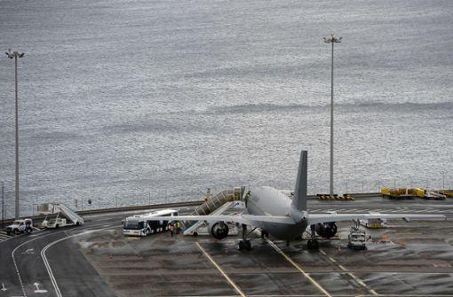 Luftwaffen-Airbus mit Verletzten nach Deutschland gestartet