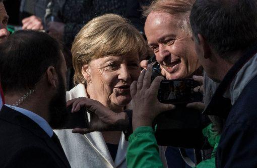 """Merkel hat keine Lust auf """"knipsen in der Kirche"""""""