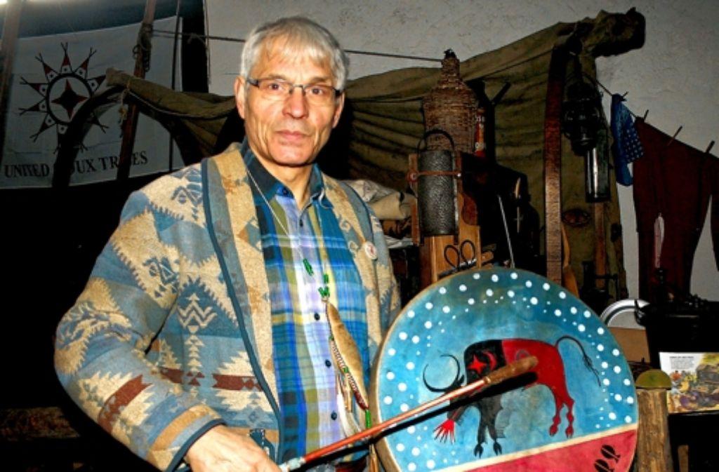 Thomas Merbt kennt sich mit Indianern aus. Foto: Knopf