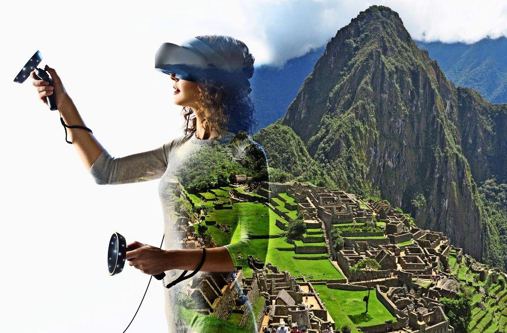 VR-Technik erlaubt die Verschmelzung von digitaler und realer Umgebung zur Mixed Reality Foto: Hersteller
