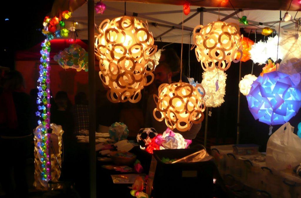 Feuerseefest in stuttgart west design nach anbruch der for Lampen stuttgart