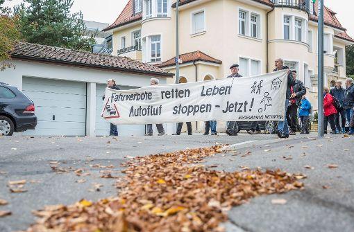 Druck im Stuttgarter Kessel