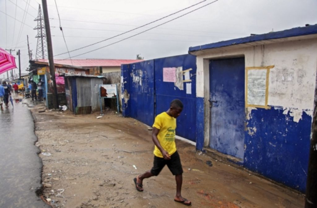 Laut WHO sind die Neuinfektionen mit Ebola in Liberia rückläufig. Foto: EPA
