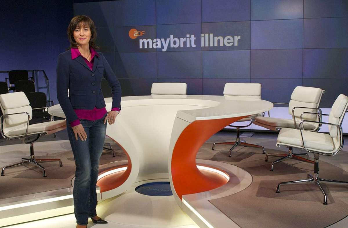 Maybrit Illner – ihr Talk ist auch im neuen Jahr ohne Corona nicht denkbar. Foto: dpa/Carmen Sauerbrei