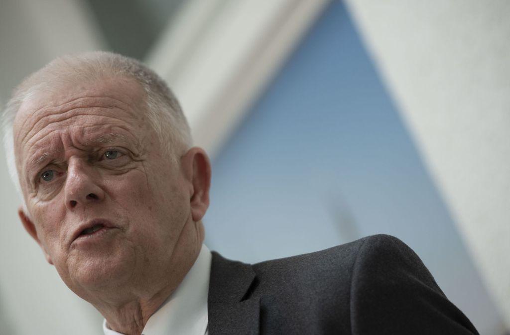Oberbürgermeister Fritz Kuhn rechnet Stuttgart für die Ausrichtung der IAA gute Chancen aus. Foto: Lichtgut/Leif Piechowski