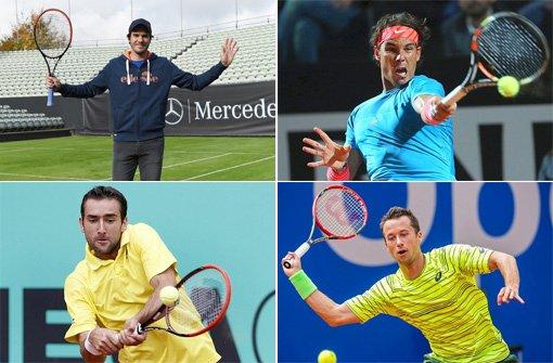 Tennis-Stars schlagen in Stuttgart auf