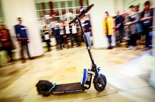 Warum E-Scooter künftig allein unterwegs sind