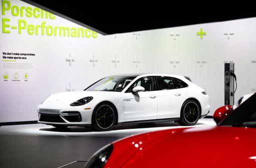 Immer mehr Firmenwagen bei Porsche  elektrisch