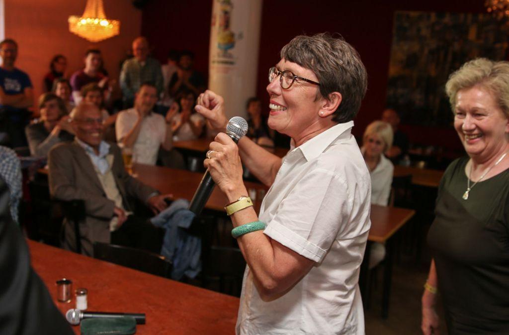 Gabriele Nuber-Schöllhammer (vorne) hat mit ihrem Ergebnis die Konkurrenz abgehängt. Foto: Lichtgut