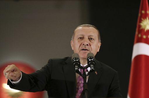 Plant Erdogan Auftritt in Deutschland?