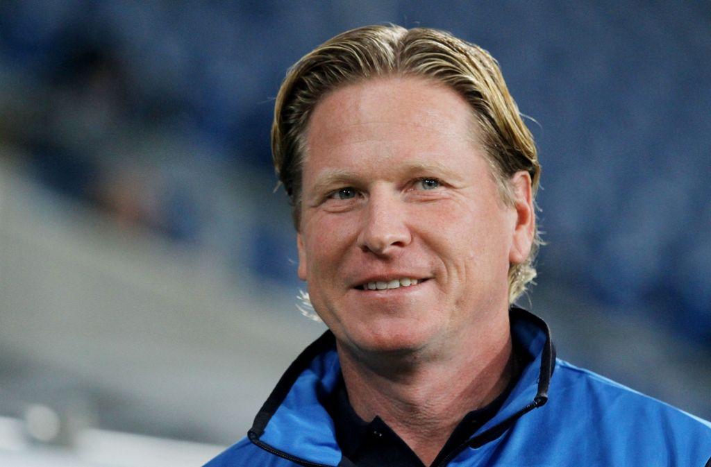 Markus Gisdol ist neuer Trainer des Fußball-Bundesligisten Hamburger SV Foto: Pressefoto Baumann