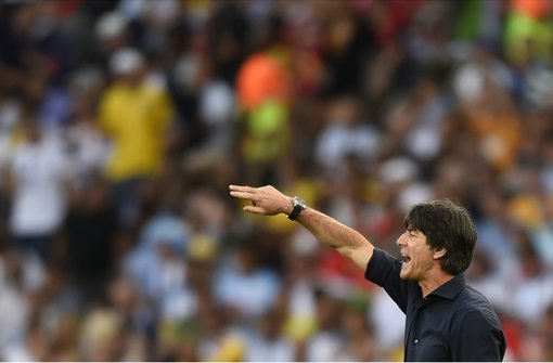 Joachim Löw führt die Deutschen zum vierten Titel. Foto: AFP