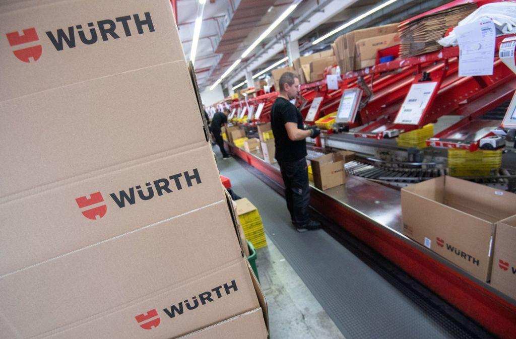 Würth konnte seinen Umsatz im ersten Quartal um 2,8 Prozent steigern. Foto: dpa/Marijan Murat