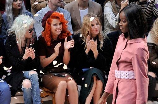 Modewoche endet mit Promi-Initiative