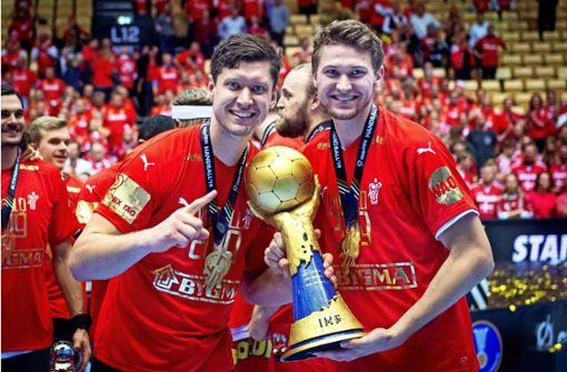 Zwei Handball-Brüder auf Titeljagd