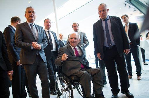 Wolfgang Schäuble erzielt Traumergebnis