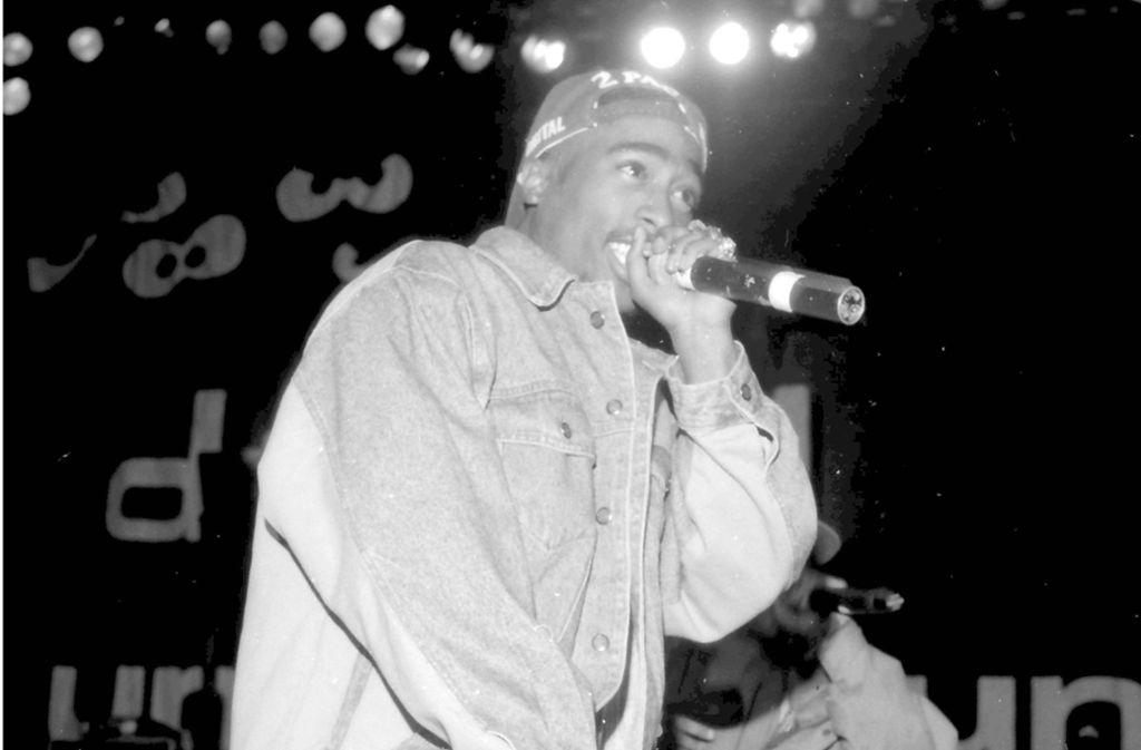 Tupac Shakur wurde 1996 im Alter von 25 Jahren erschossen (Archivbild). Foto: imago/MediaPunch/Pat Johnson